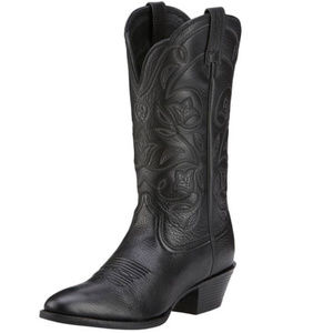 Ariat Women's Heritage R Toe Western Leather Boots